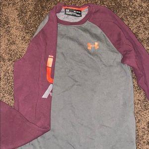 Under armour crew neck sweatshirt